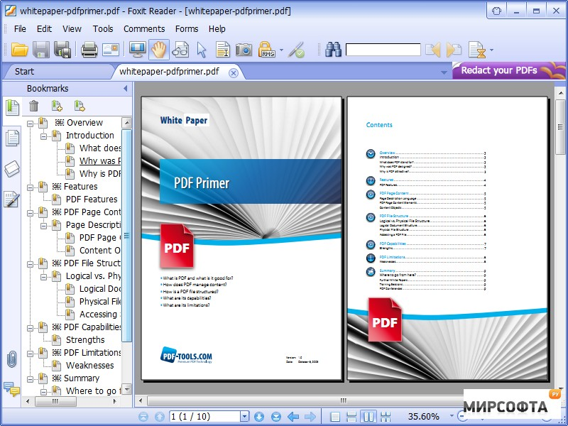 Free PDF Reader PDF Viewer Download - Foxit Software