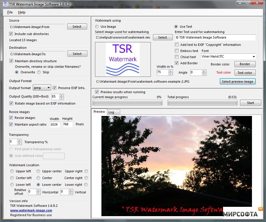 tsr watermark image pro 3.5.8.5
