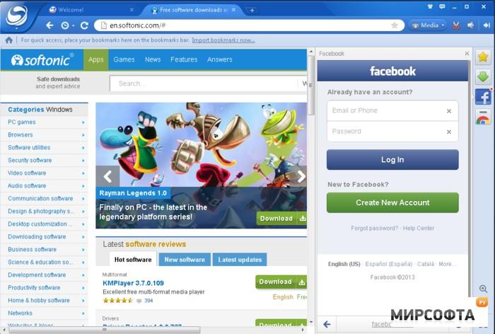 Baidu Spark Browser 33 9 1000 57 скачать бесплатно