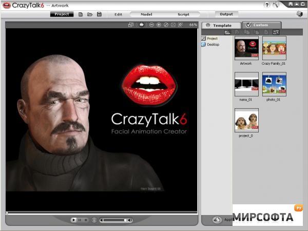 программа crazytalk 6 на русском скачать