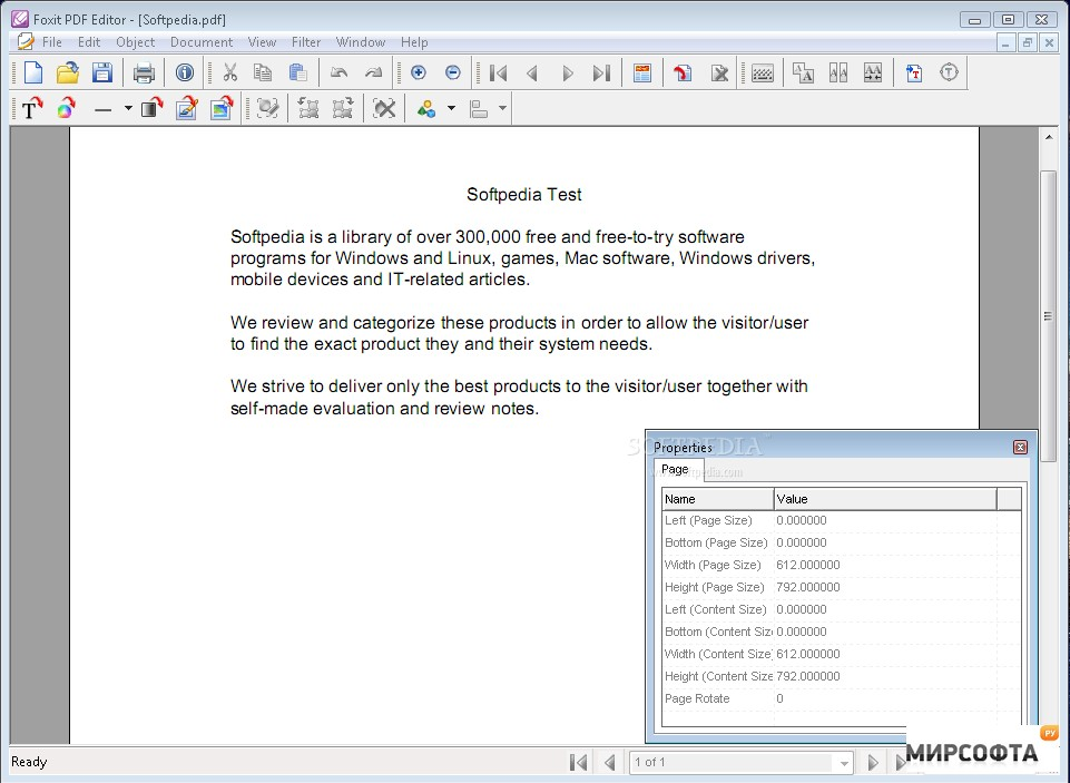 Foxit Pdf Reader Softpedia